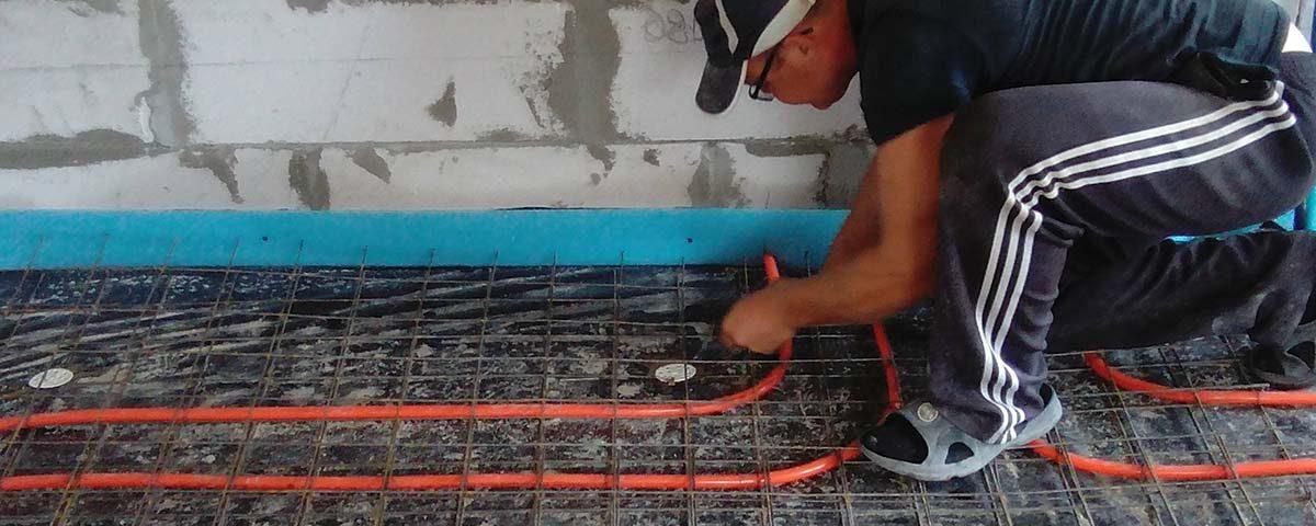 Как правильно стелить теплый водяной пол